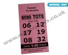 MINI TOTE TICKETS